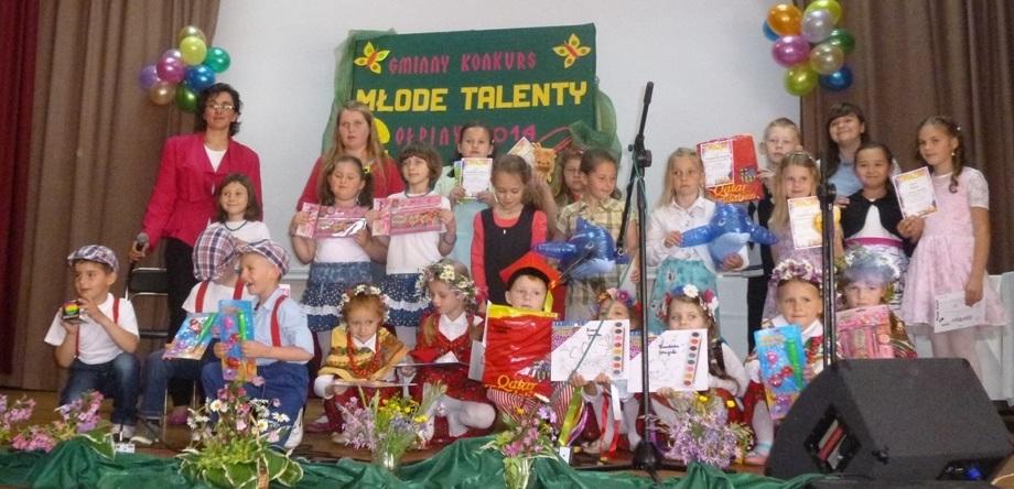 """Konkurs """"Młode Talenty"""""""